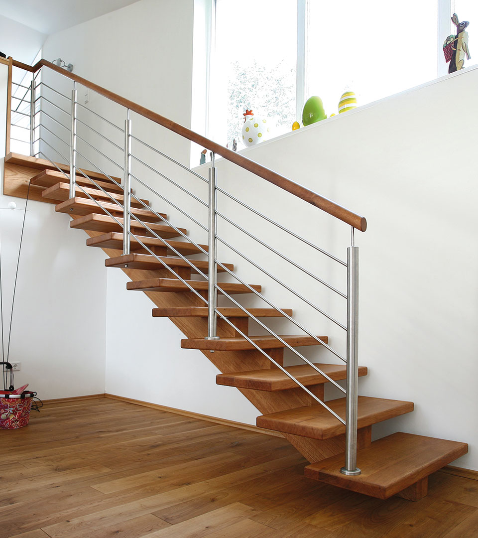 treppe eiche great eiche treppe lamellen massiv. Black Bedroom Furniture Sets. Home Design Ideas